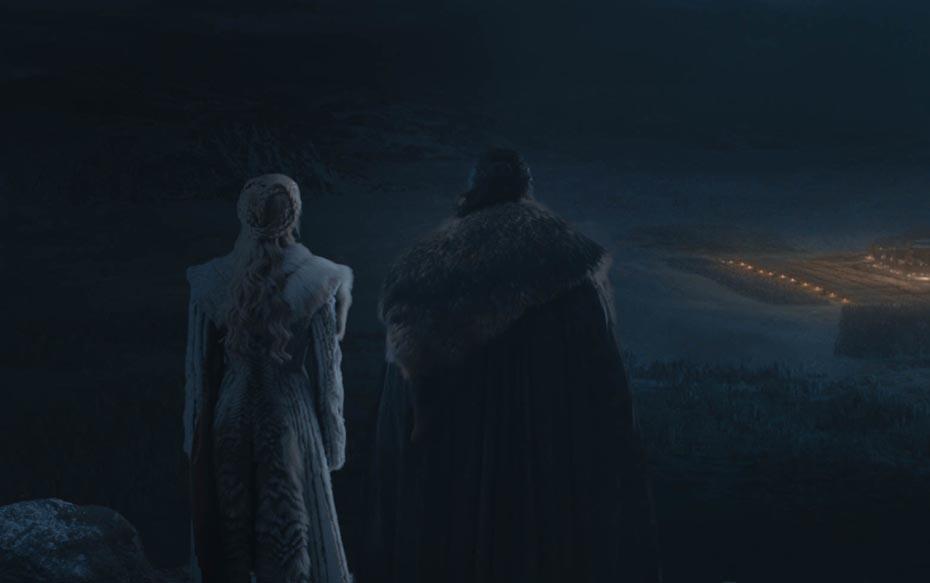 """Fotos del tercer capítulo de la última temporada de """"Game of Thrones"""" dan luces de lo que será la gran batalla"""