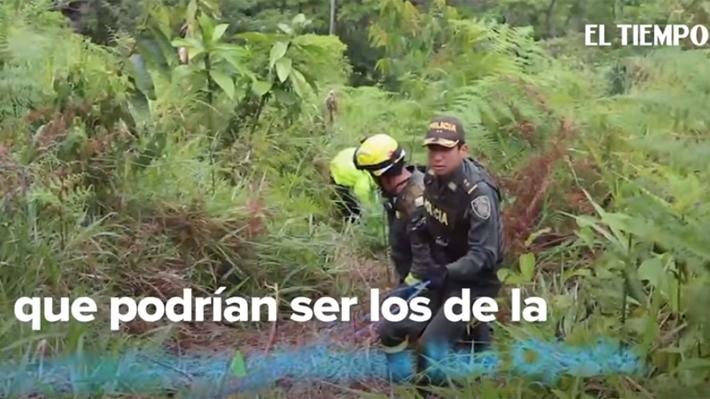 Policía de Colombia revela que encontró restos óseos, un zapato y anillo que serían de la chilena desaparecida