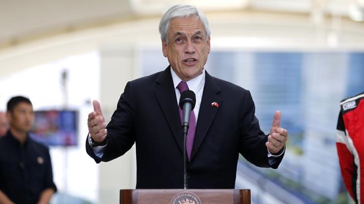 """Piñera dice que con China tenemos """"grandes coincidencias"""" ytambién """"diferencias"""" que conversó con Xi Jinping"""