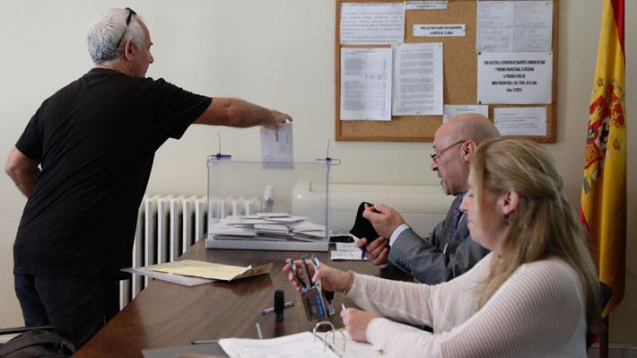 Alta convocatoria marca la jornada de elecciones generales en España