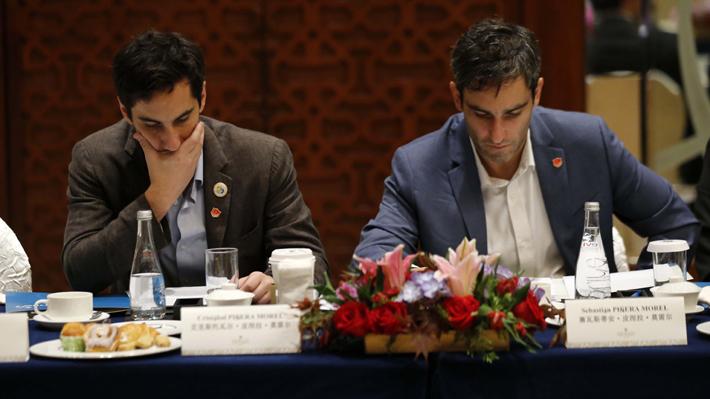 Presidentes de Chile Vamos difieren sobre participación de hijos de Piñera en reunión con empresarios tecnológicos en China