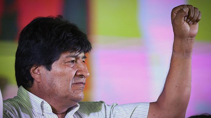 """Evo Morales insiste en carácter """"irrenunciable"""" de la demanda marítima contra Chile"""