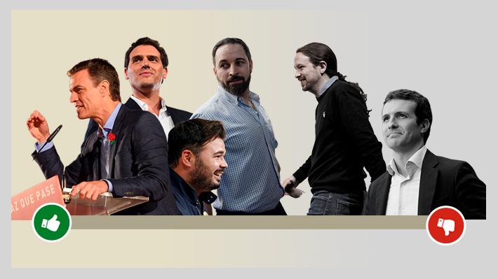 Con resultados en mano: Los grandes ganadores y perdedores de las elecciones en España
