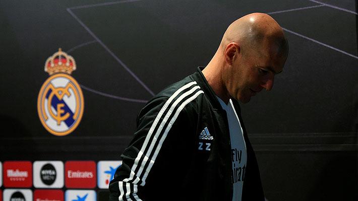 """En España dicen que Zidane """"estaría arrepentido"""" de haber regresado al Real Madrid"""