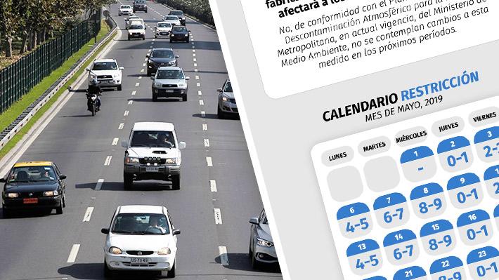 Conoce los puntos clave de la restricción vehicular a catalíticos que comienza a regir este jueves