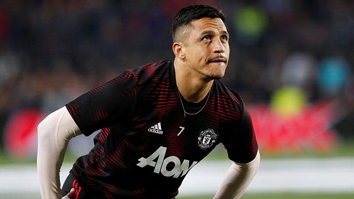 Está cerca de quedar sin Champions: El complicado escenario del United que podría influir en el futuro de Alexis