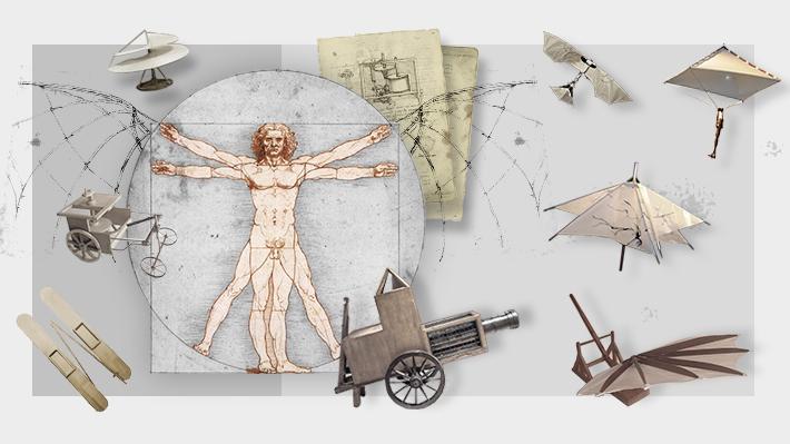 """Más allá de la """"Mona Lisa"""": Los bocetos de Leonardo da Vinci que dieron pie a invenciones de la era moderna"""