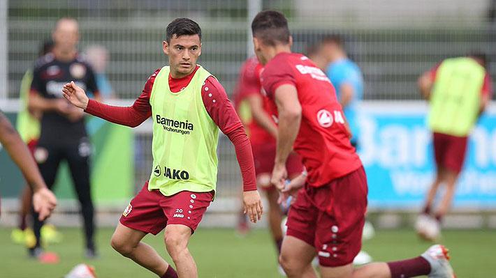 En Alemania revelan fuerte encontrón que tuvo Charles Aránguiz con un compañero en el Leverkusen