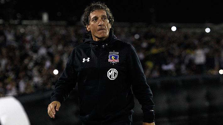 """Mario Salas dice sentirse """"responsable"""" de la eliminación de Colo Colo, aunque evitó calificarlo como un """"fracaso"""""""