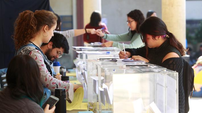 Elecciones de la FECh terminan sin ganadora por falta de quórum: Asume una directiva interina