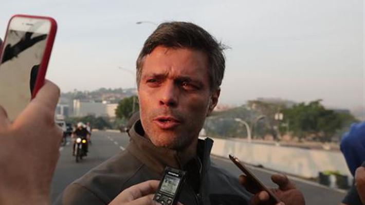 España confirma que Leopoldo López está en embajada en Caracas, pero que no ha solicitado asilo