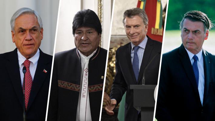 Del apoyo de Piñera a la condena de Evo Morales: La visión de las autoridades mundiales tras la tensa jornada en Venezuela