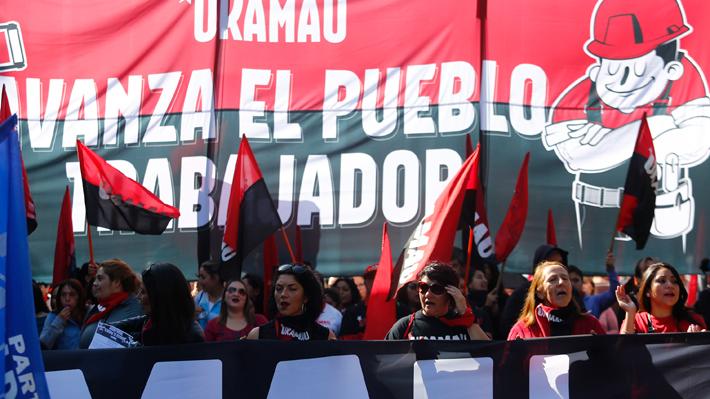 Día del Trabajador: Alessandri arremete contra organizadores de las marchas por disturbios ocurridos