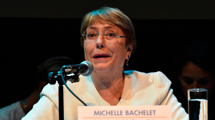 """Bachelet advierte contra uso """"excesivo de la fuerza"""" sobre manifestantes en Venezuela"""