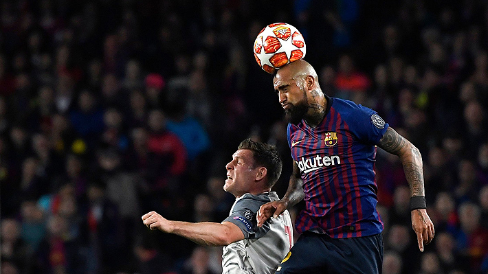 """""""Trato de dejar la vida en el campo"""" y """"Messi es de otro planeta"""": Las palabras de Vidal tras su partidazo ante el Liverpool"""