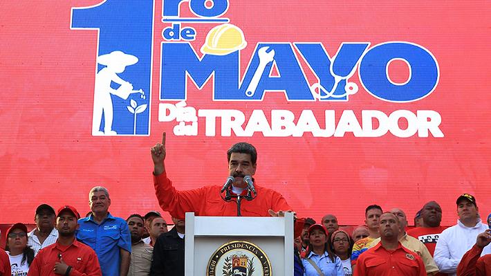 "Maduro dice que Justicia venezolana está buscando a ""responsables"" de alzamiento: ""Pagarán con cárcel por traición"""