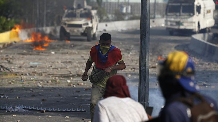 De la liberación de Leopoldo López a la muerte de una joven en medio de una protesta: Las agitadas dos jornadas en Venezuela