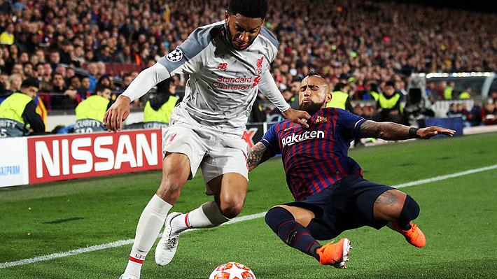 """""""Tiene tres pulmones"""", """"se multiplicó en la cancha"""": En España alucinan con un """"impresionante"""" Vidal en semis de Champions"""
