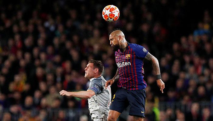 """Las notables estadísticas de Vidal en su partidazo ante Liverpool por las que ha sido tildado de """"gladiador y rey del tackle"""""""