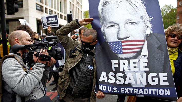 Assange niega su consentimiento a ser extraditado a EE.UU.