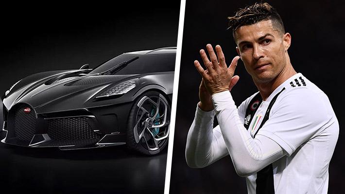 Cristiano Ronaldo podría ser el dueño del Bugatti más caro de la historia