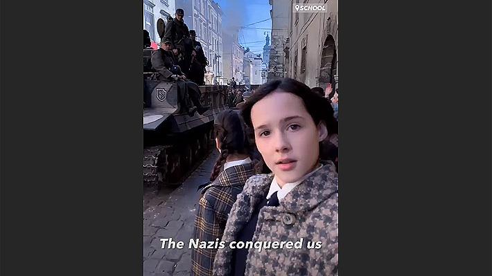 Eva Stories, la cuenta en redes sociales que muestra cómo hubiese sido la vida de una adolescente judía en el Holocausto