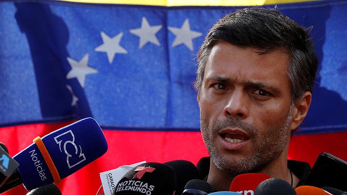 """Leopoldo López afirma que hizo gestiones con el mundo militar durante su encierro: """"Hablé con muchos generales"""""""