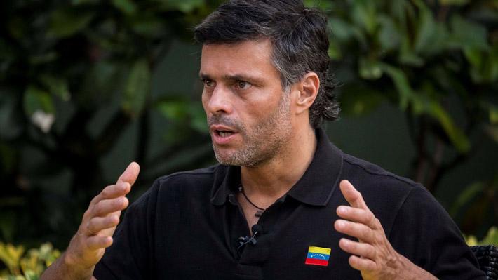 """Leopoldo López: """"Hay un claro interés del entorno más íntimo de Nicolás Maduro de que salga del poder"""""""