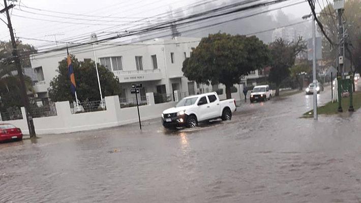 Onemi sobre lluvias en el Biobío: Un muerto por accidente, 300 casas anegadas y más de 2 mil hogares sin luz