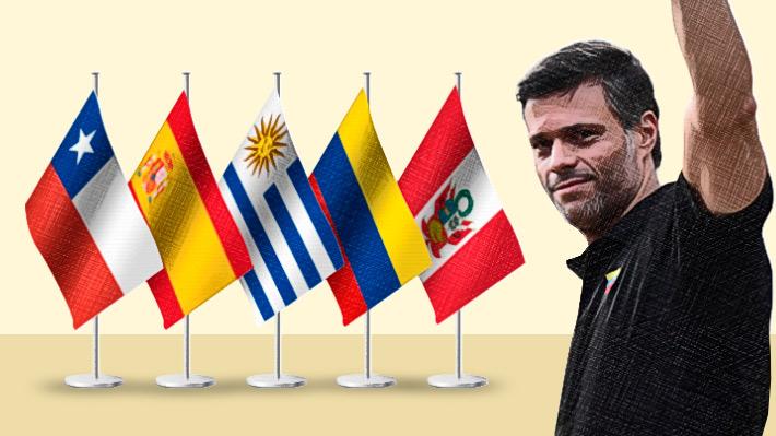 Casos de venezolanos que han solicitado refugio en embajadas ubicadas en Caracas