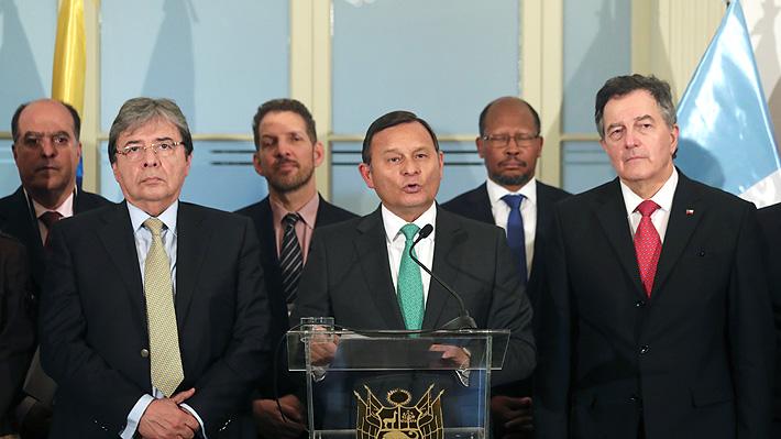 Grupo de Lima acuerda hacer las gestiones para que Cuba participe en la búsqueda de una solución a la crisis de Venezuela