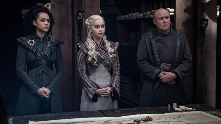 """El peculiar vaso que sorprendió a los espectadores en el cuarto capítulo de la última temporada de """"Game of Thrones"""""""