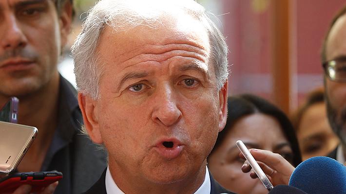 """Larraín dice que bajo Imacec """"no es preocupante"""" y está """"convencido"""" de crecer al 3,5% en 2019"""
