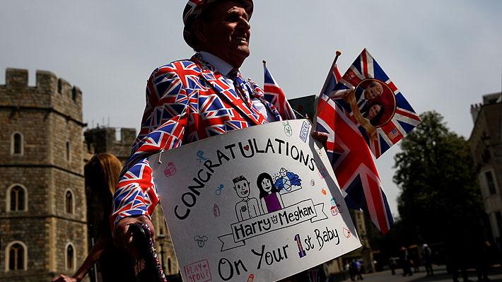 """Miembros de la familia real se declaran """"encantados"""" y """"emocionados"""" con el nacimiento de """"Baby Sussex"""""""