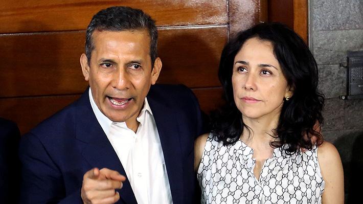 Fiscalía peruana acusa de lavado de activos a Ollanta Humala y su esposa por caso Odebrecht