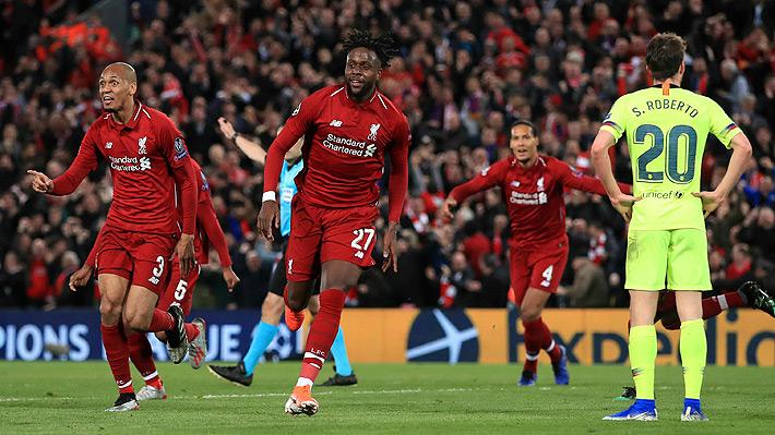Liverpool logra una espectacular remontada y provoca el papelón para Vidal y Barcelona que se quedan sin final de la Champions