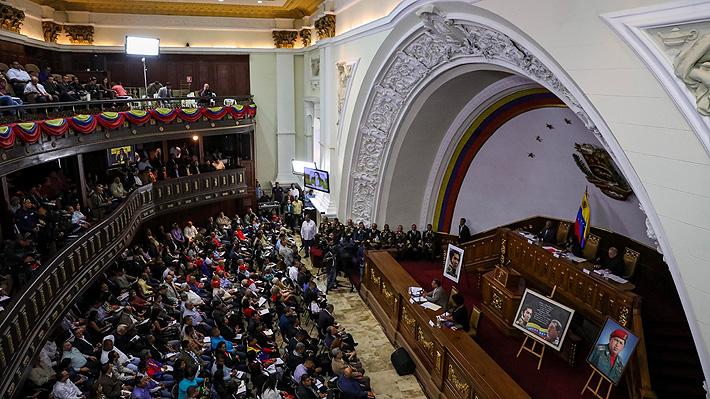 """Asamblea Nacional Constituyente venezolana quita inmunidad a siete diputados opositores por """"traición a la patria"""""""