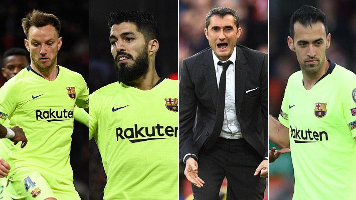 Desde Valverde a Luis Suárez: Los apuntados por la debacle del Barcelona en la Champions