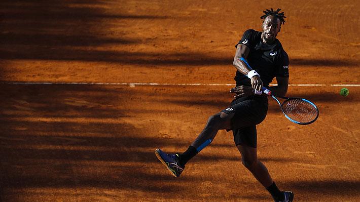 """Mira el tremendo punto que ganó Monfils en el Masters 1.000 de Madrid y que la ATP tildó de """"estratosférico"""""""