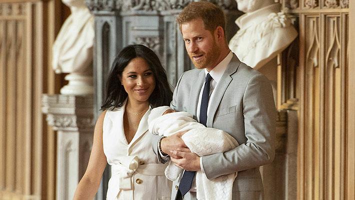 Duques de Sussex anuncian el nombre que eligieron para su hijo: las apuestas no lo contemplaban