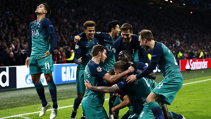 Revisa los goles con que el Tottenham se lo dio vuelta al Ajax y se metió en la final de la Champions League