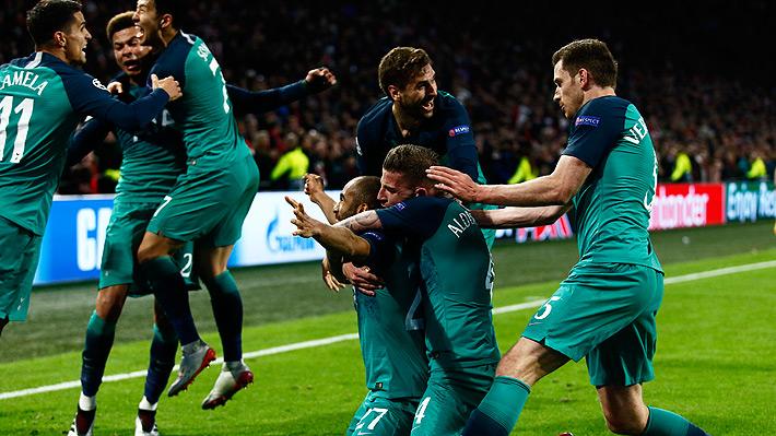 Tottenham logra un épico triunfo al eliminar al Ajax en un partidazo y jugará la final de la Champions ante Liverpool