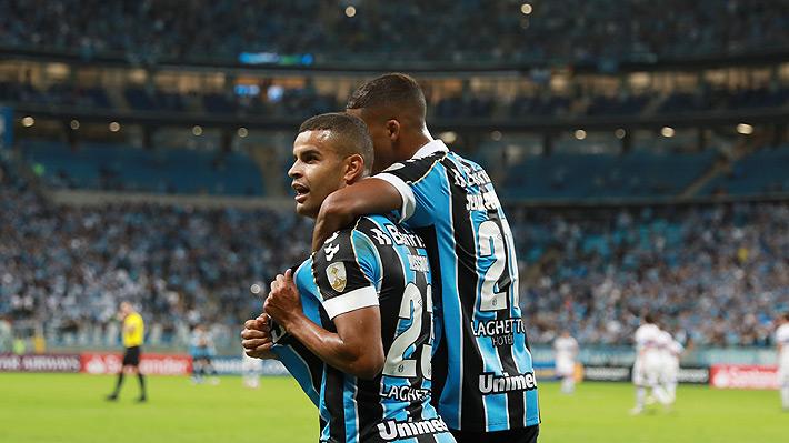 Mira los goles con que la UC perdió ante Gremio y se despidió de la Libertadores