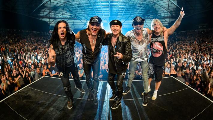 "Scorpions llega a Chile con su ""Crazy World Tour"" y tendrá a Whitesnake como invitado"