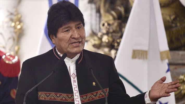"""Evo Morales insiste en dialogar con Chile por demanda marítima: """"Tenemos tantas cosas que debatir"""""""
