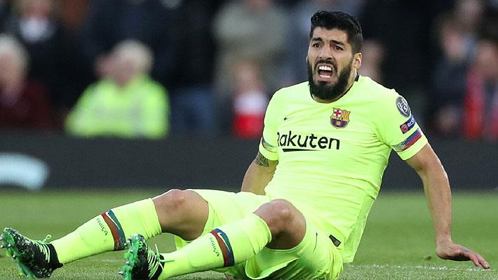 Alerta en Uruguay: Luis Suárez será operado hoy de la rodilla derecha y sería duda para la Copa América