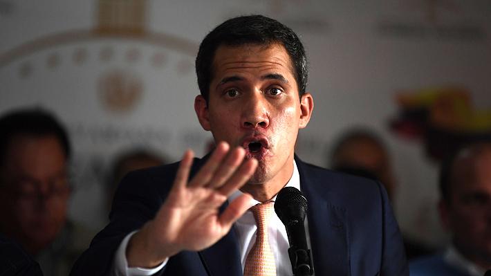"""Guaidó asegura que Venezuela ya pasó la """"línea roja"""" para requerir """"cooperación militar"""" extranjera"""