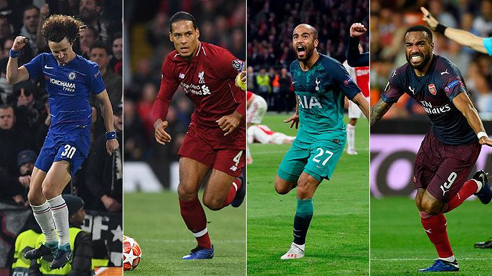El fútbol inglés hace historia: Por primera vez los finalistas de la Champions y la Europa League son de un mismo país