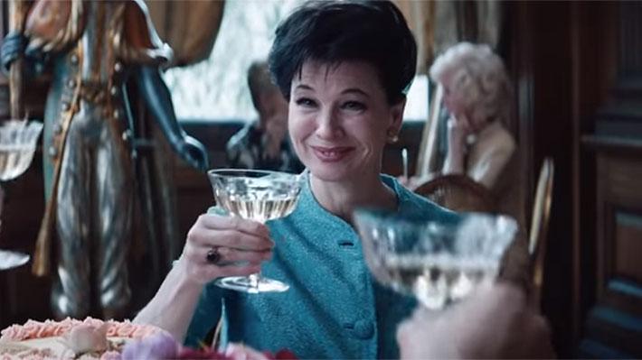 Lanzan el primer tráiler de biopic de Judy Garland protagonizada por René Zellweger