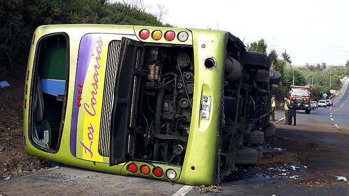Accidente en La Araucanía: Cuatro mujeres y dos hombres, entre ellos un extranjero, son las víctimas fatales
